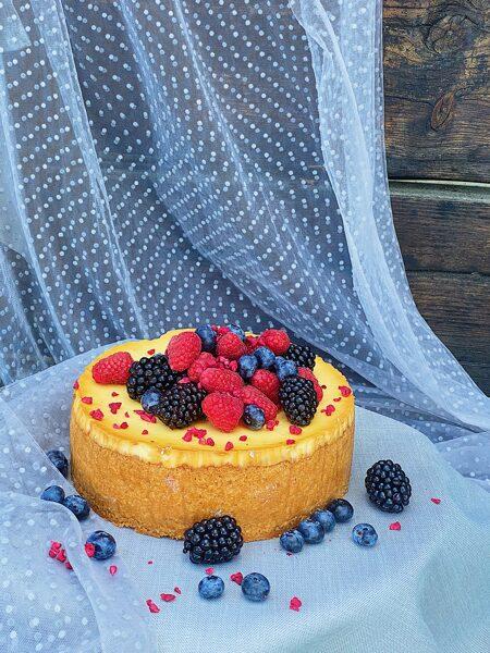 Ceptā siera kūka 20Eur/kg